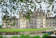 Chateau de Chambord, France Stock Image
