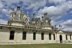 Chateau de Chambord, Frankreich Stockfoto