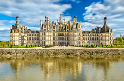 Chateau de Chambord, the largest castle in the Loire Valley - France royalty free stock photography
