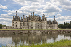 Chateau de Chambord of the Loire Valley Stock Photography