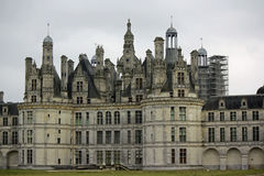 Chateau de Chambord (Loire Valley, France) Royalty Free Stock Photos