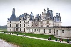Chateau de Chambord, Loire Valley, France Stock Photos