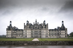 Chateau de Chambord, Loire Valley, France Royalty Free Stock Photos