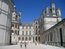 Chateau de chambord Royalty Free Stock Photo