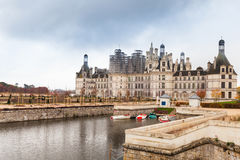 Chateau de Chambord, Loire Valley, France Royalty Free Stock Image
