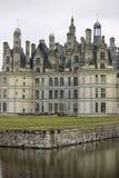 Chateau de Chambord (Loire Valley, Francia) foto de archivo