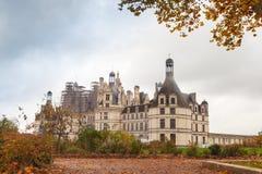 Chateau de Chambord, medieval castle, France Royalty Free Stock Photos