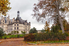 Chateau de Chambord, medieval castle, France Royalty Free Stock Photography