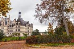 Chateau DE Chambord, middeleeuws kasteel, Frankrijk royalty-vrije stock fotografie