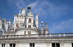 Chateau de Chambord Royalty Free Stock Photography