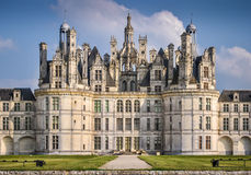 Chateau de Chambord Royalty Free Stock Photos
