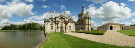 Chateau de Chantilly ( Chantilly Castle ), France Royalty Free Stock Photography