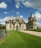 Chateau de Chantilly ( Chantilly Castle ), France Royalty Free Stock Images