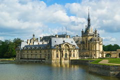 Chateau de Chantilly ( Chantilly Castle ), France Stock Photos