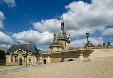 Chateau de Chantilly ( Chantilly Castle ), France Stock Photos