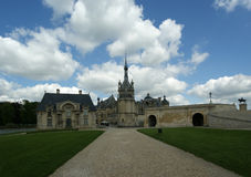 Chateau de Chantilly ( Chantilly Castle ), France Stock Photography