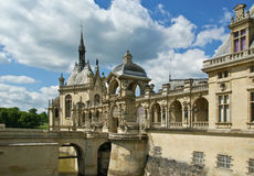 Chateau de Chantilly ( Chantilly Castle ), France Royalty Free Stock Image