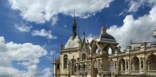 Chateau de Chantilly ( Chantilly Castle ), France Royalty Free Stock Photos