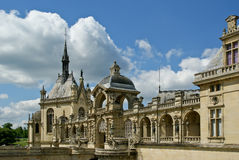 Chateau de Chantilly ( Chantilly Castle ),Picardie, France Stock Images