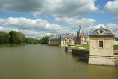 Chateau de Chantilly ( Chantilly Castle ),Picardie, France Royalty Free Stock Photo