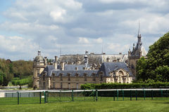 Chateau de Chantilly ( Chantilly Castle ),Picardie, France Stock Photography