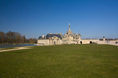 Chateau de Chantilly, France Stock Photo