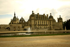 Chateau de Chantilly, France Stock Images
