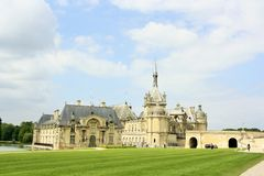 Chateau de Chantilly, France Stock Images