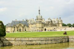 Chateau de Chantilly, France Royalty Free Stock Images