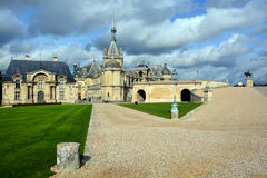 The Chateau de Chantilly Stock Images