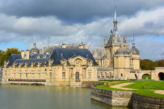 The Chateau de Chantilly Stock Image