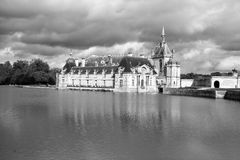 The Chateau de Chantilly Royalty Free Stock Photography