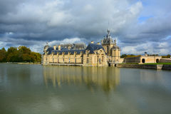 The Chateau de Chantilly Royalty Free Stock Images