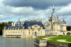 The Chateau de Chantilly Stock Photo