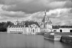 The Chateau de Chantilly Royalty Free Stock Image
