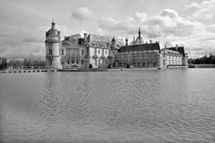 The Chateau de Chantilly Royalty Free Stock Photo