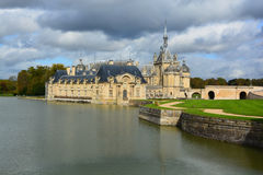 The Chateau de Chantilly Royalty Free Stock Photos