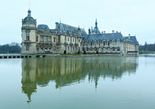 Chateau de Chantilly (France). Royalty Free Stock Image