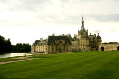 Chateau DE Chantilly, Frankrijk Stock Foto's