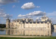 Chateau DE Chantilly, Frankrijk Stock Afbeeldingen