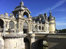 Chateau de Chantilly, French Castle Stock Photo