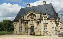Chateau de Chantilly-- Musee Conde, Oise,  France Stock Photo