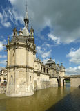 Chateau de Chantilly, Oise, Picardie, France Stock Photography
