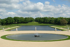 Chateau de Chantilly, Oise, Picardie, France Royalty Free Stock Photos