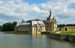 Chateau de Chantilly, Oise, Picardie, France Stock Photos