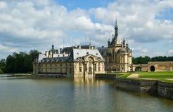 Chateau de Chantilly, Oise, Picardie, France Stock Photos