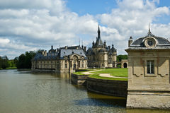Chateau de Chantilly, Oise, Picardie, France Royalty Free Stock Photography