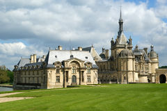 Chateau de Chantilly, Oise, Picardie, France Royalty Free Stock Images