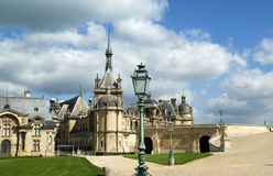 Chateau de Chantilly, Picardie, France Royalty Free Stock Photo