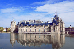Chateau de Chantilly Stock Photography